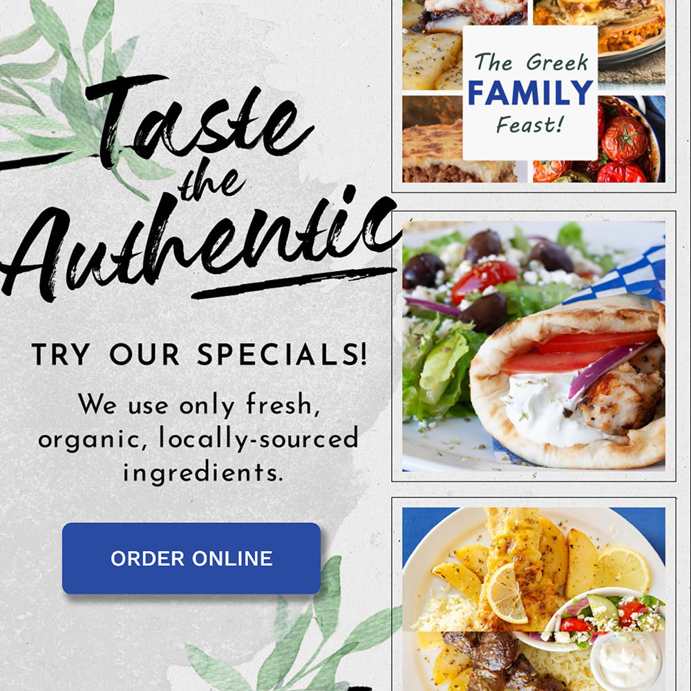 Blue Olive Weekly Specials